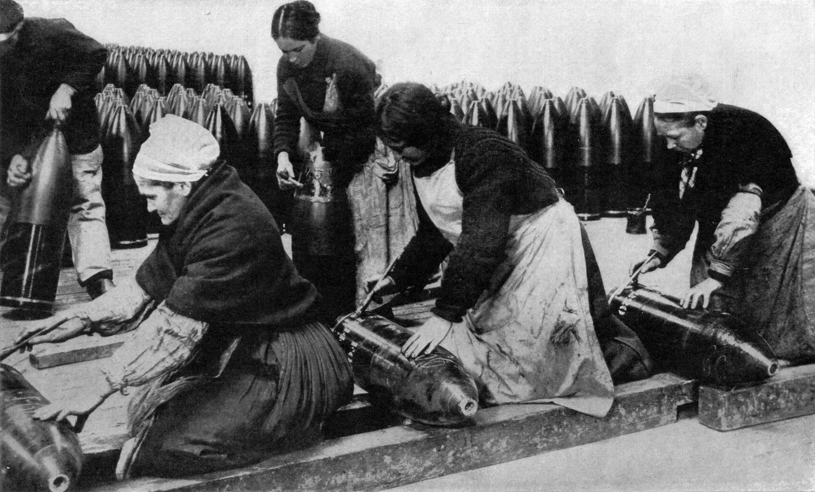 munitionnettes Paris 1917